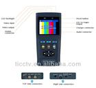 """2.8"""" DC 12V 1A Power output video tester"""