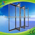 upright freezer com porta de vidro