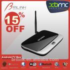 2014 Cheapest Quad Core Android HD TV Box, Smart Media Player TV Box 2GB RAM 8GB ROM with Bluetooth 4.0