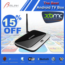 Quad Core XBMC Africa TV Box, TV Input Box Android, TV Cable Box Stand 2GB RAM 8GB ROM with Bluetooth 4.0