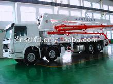 concrete pump truck 24m/37m/39m/42m/45m/48m/52m concrete pump turck