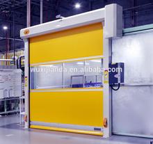high speed pvc fabric roll up door / interior roller shutter door