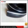 Black /silver car body side Molding trim, car bumper protector strips