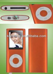 "Cheap 9 colors 1.8"" 8GB 4TH LCD screen MP3 MP4 Player"