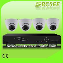 Low Cost Full D1 H.264 DVR Cmos 4ch cctv camera set