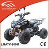 200cc racing quad atv CVT engine atv with reserve gear