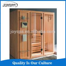 Unique design outdoor traditional sauna room factory sauna shower room