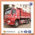 Sinotruk howo 336hp 6*4 volcado de camiones para la venta
