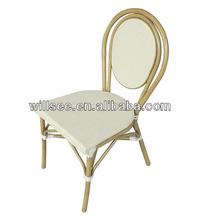 OTA-1005,Aluminum Bamboo Garden Chair/Rattan Bamboo Chair/aluminum bamboo wicker chair