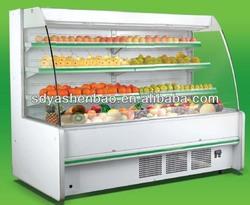 open style fruit /vegetable display cooler