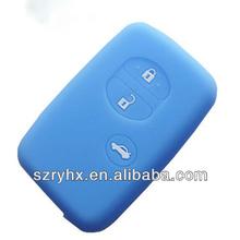 Toyota Remote Car key silicone cover case for Camry Prius Corolla 3 button