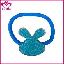 Cute rabbit kids ponytail holders hair accessories