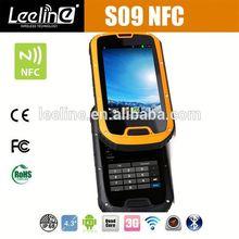 S09 NFC PTT outdoor latest mobile phones 2013,waterproof Smartphone android IP68 Waterproof Dustproof Shockproof
