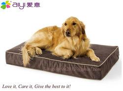 High quality luxury waterproof memory foam pet bed AY-T008