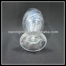 Wholesale transparent hand press flower pitcher clear beer glass short stem mug set glass champagne flutes