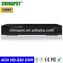 Promotion 4CH SDI DVR 1080p HD-SDI DVR Supports 3 SATA ports PST-HD-DVR04