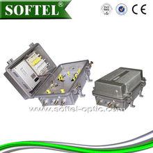 2 Way outputs Field Bi-directional CATV trunk amplifier