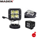 "small size 3"" 16 led work light used motorcycle MD-3160"