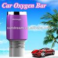 2014 nuevo diseño elegante portátil de coche bar de oxígeno