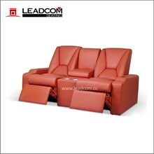 LEADCOM luxury leather electric cinema sofa recliner (LS-805)