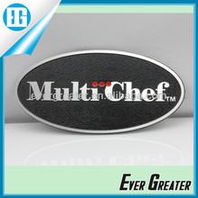 3M custom made badge aluninum stickers label custom chrome car 3D emblems