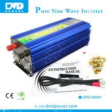 Top Performance 24v DC/AC Inverter 3000w Real True Sine Wave Solar Power Inverter