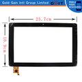 12.8 pulgadas tablet pc con pantalla táctil de cristal digitalizador de piezas de repuesto para 25.7x16.9cm, de color negro