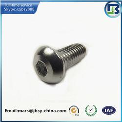 Hex socket cap head aluminum screw