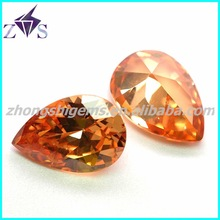 AAA quality pear shape loose precious stone with popular vacuum packing