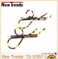 Newest wholesale turtle hair ornaments, bow shape tortoise hair clip