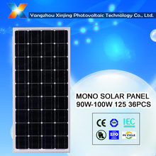 Made in china PV Mono solar panel /module110 w