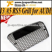 2013 Matt Silver Frame A5 RS5 Facelift Grill,Front Car Honeycomb Grille For Audi A5