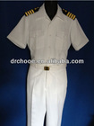 Costume white Navy officer uniform