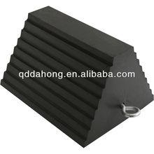 black rubber stop block cart rubber brake shoe