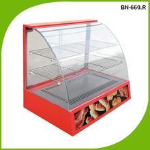 BN-660.R Industrial store used warming display electric food warmer/showcase/food warmer