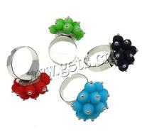 2015 wholesale fashion acrylic jewelry stretch finger ring