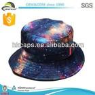 Fashion High Quality Printing Galaxy Cheap Bucket Hat/Cap