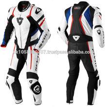 one piece Genuine cow hide leather motorbike motorcycle racing suit bikers suits