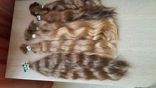Russian hair natural light brown raw unprocessed virgin hair