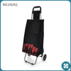 2014 New Arrival Foldable 2-Wheel 600D Polyester Travel Trolley Bag