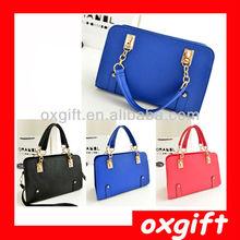 OXGIFT 2014 Popular Tote Bag Lady Candy Color bag wholesale women summer bag TLL076