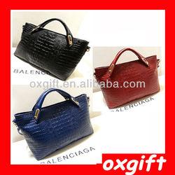 OXGIFT High Quality 2014 Handbag woman Office Bags ,women luxury shoulder bags TLL075