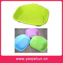 Qishun Wholesale Colorful Thick Plastic Dog Beds