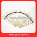 atacado de frutas de bambu espetos de bambu para churrasco espetos de carne