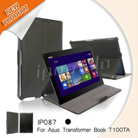 2014 hot selling tablet case protective laptop shell for Asus transformer book t100ta