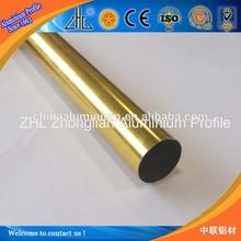 Hot order !!YaLian brand Anodized 200mm hollow aluminium tube for construction/industry/decoration,brushed aluminium round tube