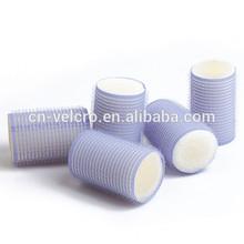 Sleep in sponge foam velcro cling hair curler velcro hair roller
