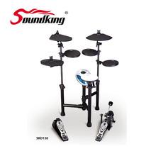 5 барабаны 3 тарелки профессиональные электронный барабан