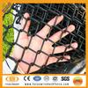 Sport field balck powder coated chain link fencing