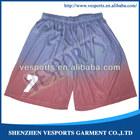 Boys basketball shorts sublimation